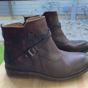 Frye Leather Ankle Boot W-9